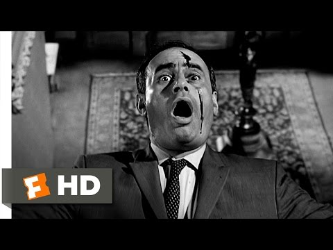 Psycho 1012 Movie   Arbogast Meets Mother 1960 HD