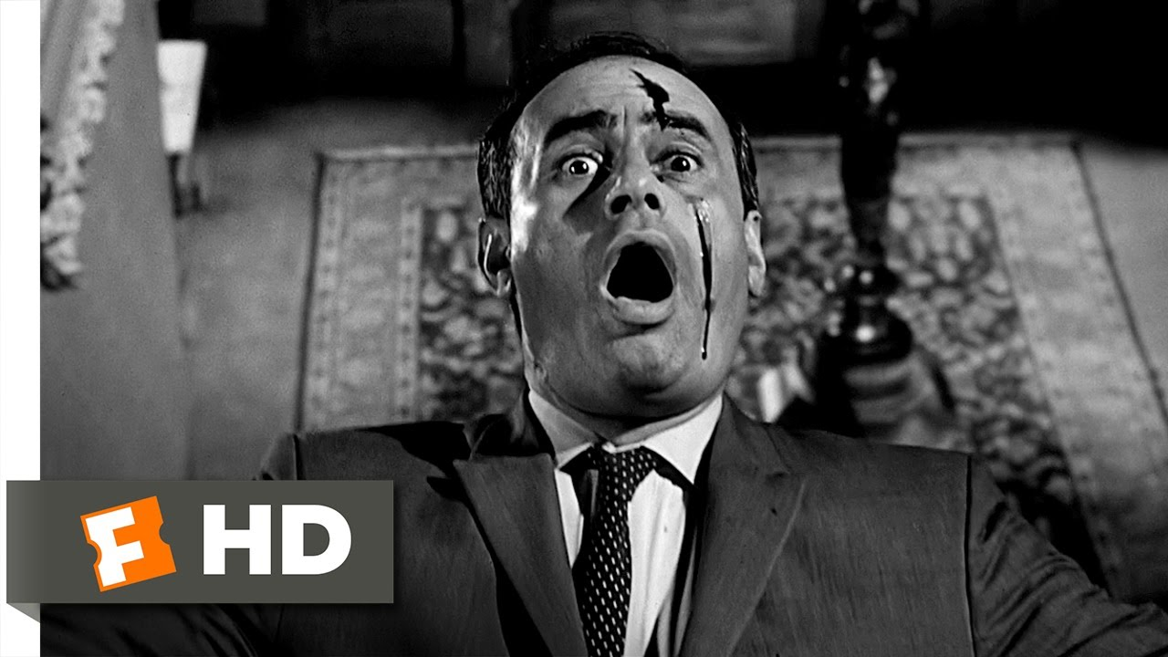 Psycho 1012 Movie CLIP  Arbogast Meets Mother 1960