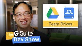 De invoering van Team Schijven voor Ontwikkelaars (De G-Suite Dev Show)