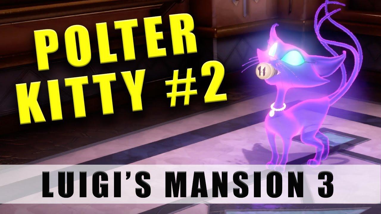 Luigi's Mansion 3 Polterkitty Part 2