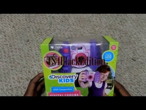 Discovery Kids USB Compatible Handheld Digital Camera Unboxi