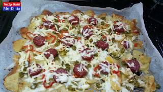 Patates Pizzası Tarifi - Naciye Kesici - Yemek Tarifleri