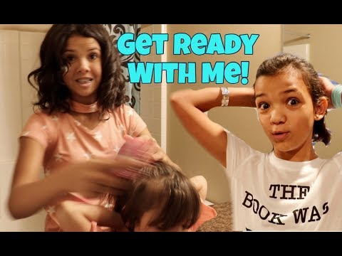 GET READY WITH ME FIRST DAY OF SCHOOL 2017 | Large Family of 6 Kids