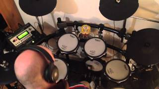 Tasmin Archer - Sleeping Satellite (Roland TD-12 Drum Cover)