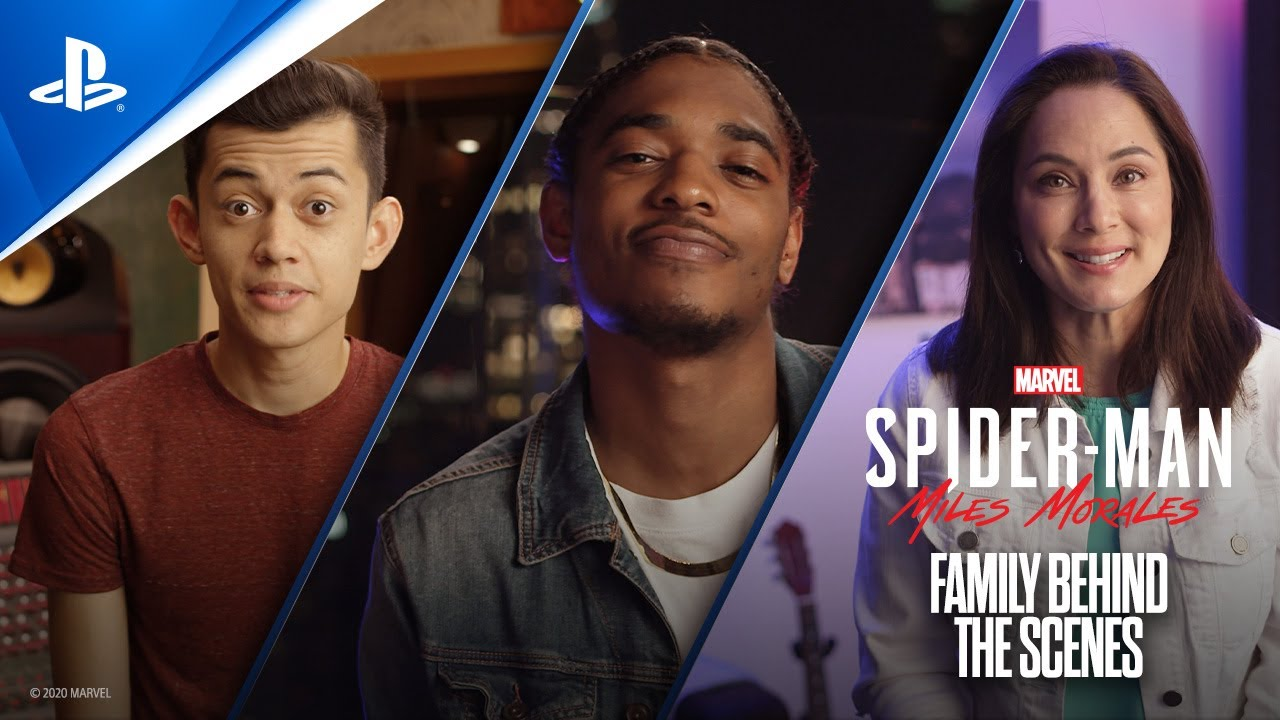 Marvels Spider-Man: Miles Morales – Family Behind the Scenes | PS5, PS4