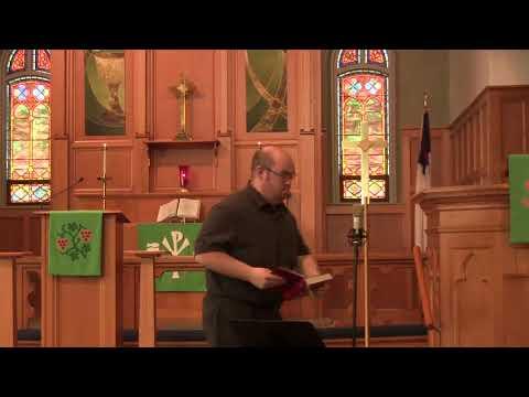 Zion Sunday Service, November 8th, 2020  9:00 AM