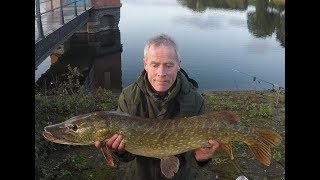 Sywell Reservoir pike fishing with lures 2019 Patric Kyte
