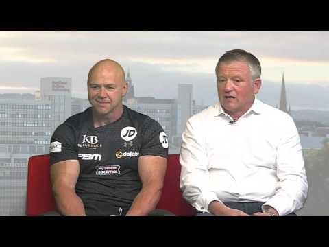 Sheffield Live TV Chris Wilder #sufc & Dominic Ingle 25.5.17 Part 2