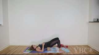 22 Minute Restorative Gentle Stretch Hatha Yoga Class