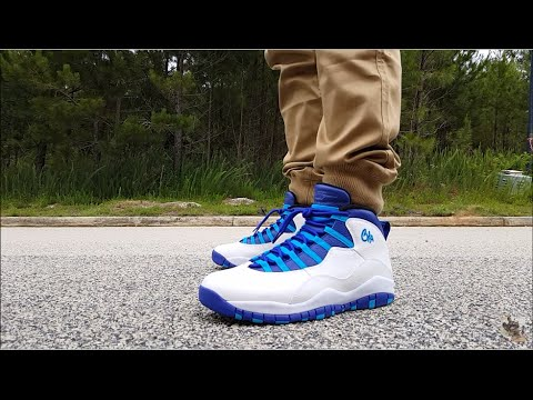 AIR JORDAN 10  CHARLOTTE  REVIEW AND ON FEET!!! - YouTube 49ad86a8a491