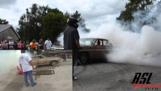 64' Chevy Belair Burnout