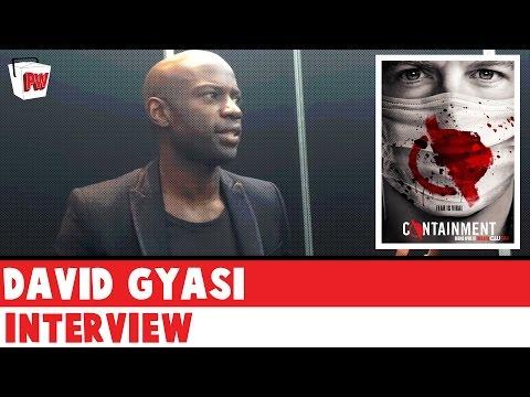 CONTAINMENT: David Gyasi   NYCC 2015