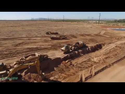Red Rock Solar Plant Construction Update #2