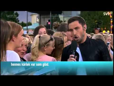 Måns Zelmerlöw - En Kväll I Juni (LIVE - Allsång På Skansen 2015)