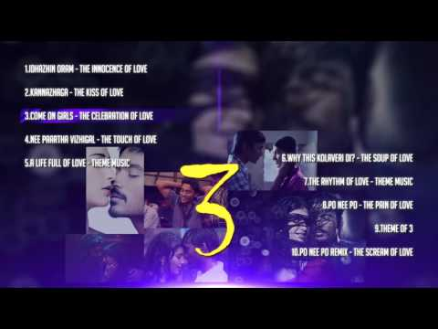 3 Tamil Movie Songs   Music Box