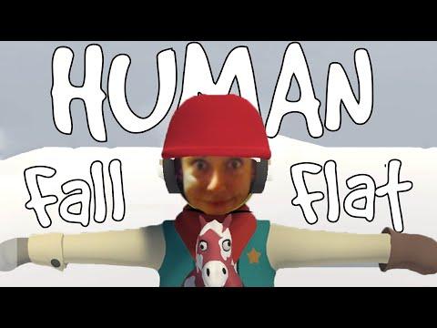 НАЙ-ЗАБАВНАТА ИГРА!   Human Fall Flat #2