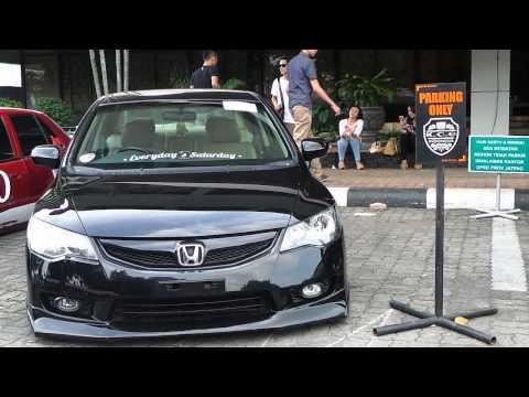 VIDEO Polines Gelar Kontes Metamorfosa Modifikasi Mobil di Semarang