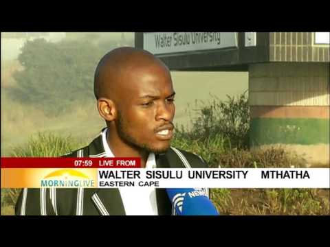 Security issue a concern for students at Walter Sisulu University