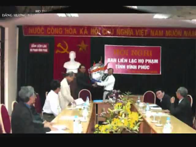 Bài hát Họ Phạm trong lòng mẹ Việt Nam #1