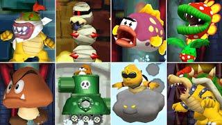 New Super Mario Bros. DS - All Bosses (No Damage)