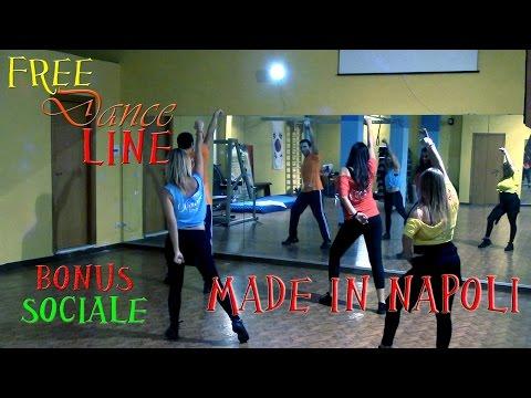 Free Dance Line - BONUS Sociale - Made In Napoli by Nico Desideri (Balli di Gruppo 2014)