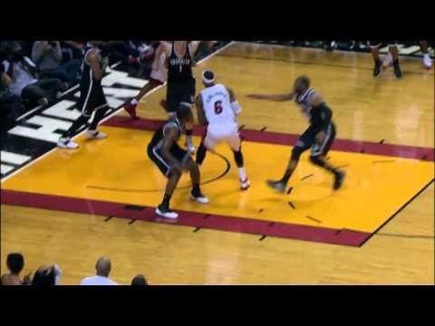Mason Plumlee's Game Saving Block on LeBron James!