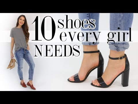 10 SHOES Every Woman Should Own! *essentials you'll love*