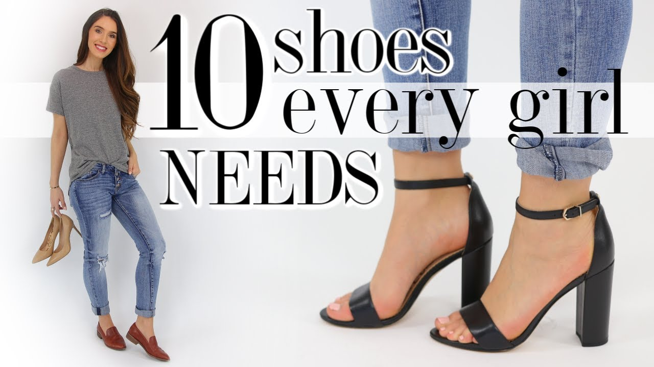 d391399ddc73bc 10 SHOES Every Woman Should Own!  essentials you ll love  - YouTube