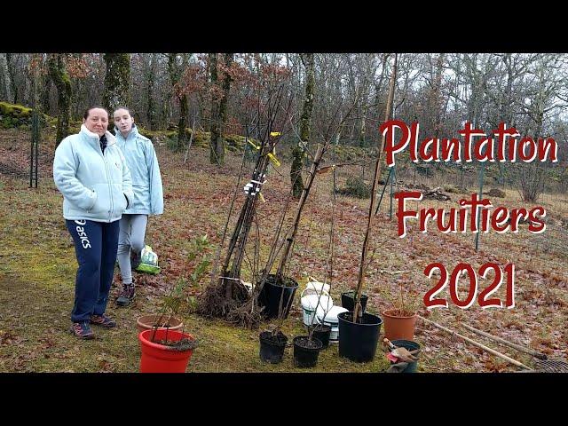 Plantation Fruitiers 2021 - LMQDN