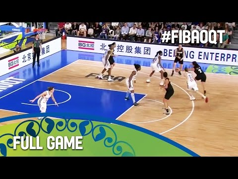 France v New Zealand - Full Game - Group A - 2016 FIBA Women's Olympic Qualifying Tournament