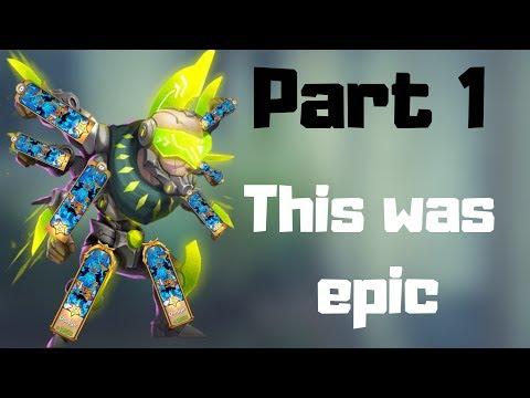 New Crazy Build | Part 1 | Traits Rolling | Castle Clash
