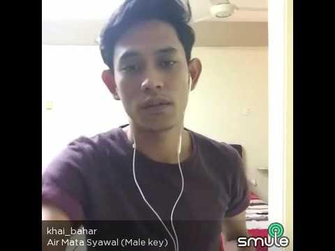 air mata syawal cover by khai bahar