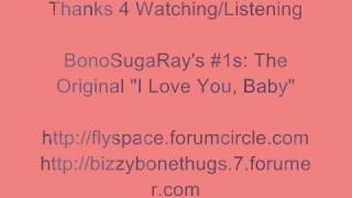 The Original - I Love You Baby