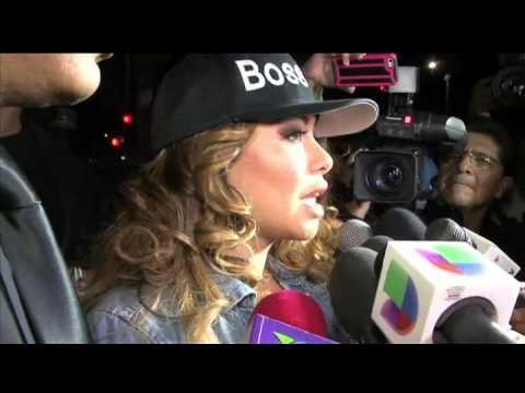 Chiquis Rivera desata tumulto por defender a Esteban Loaiza