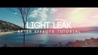كيفية جعل تسرب الضوء في بعد الآثار - بعد الأثر التعليمي (لا يوجد طرف ثالث المساعد)