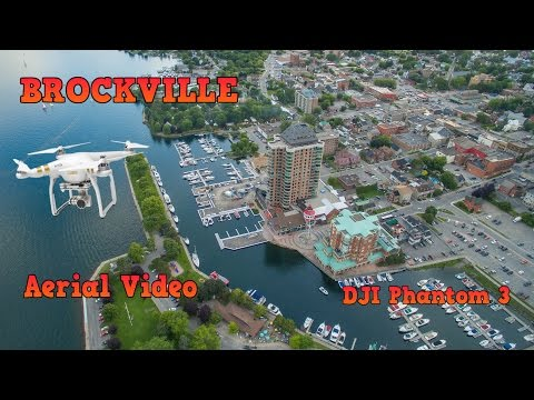 Brockville - A View From The Sky - DJI Phantom 3