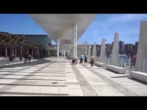 El Palmeral views at Puerto Malaga Port Terminal Andalucia Spain Great HOLIDAY location