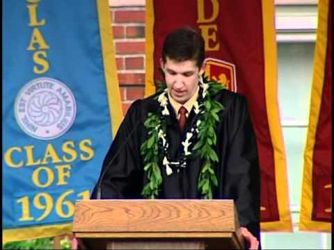 Weston's 2011 Lakeside School Commencement Speech