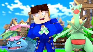 Minecraft: INSIGNIA DE GRAMA - POKÉMON SWORD AND SHIELD #14 ‹ FLASH3 ›