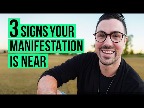 3 Signs Your Manifestation Is Coming Your Way | Law of Attraction