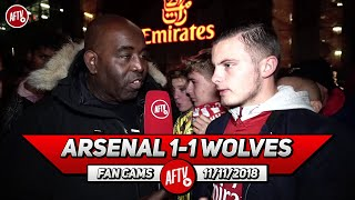 Arsenal 1-1 Wolves | That Reminded Me Of The Last Season's Arsenal!