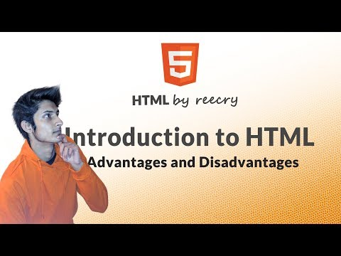 What Is HTML ? Advantages & Disadvantages Of HTML ?