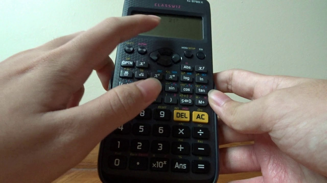 How to type (almost) the whole alphabet with a calculator - YouTube
