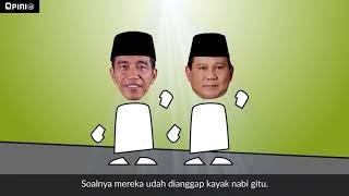 Gambar cover Asal Usul Cebong dan Kampret - Lucunya Pemilu