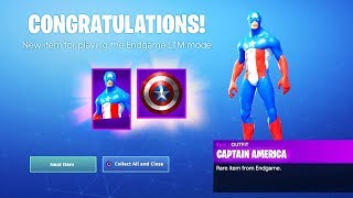 How To Get NEW AVENGERS ENDGAME SKIN REWARDS in Fortnite! (Fortnite Avengers Endgame)