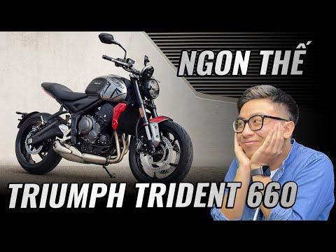 """""""Đánh giá"""" Triumph Trident 660: đối thủ căng nhất của Honda CB650R?   Đường 2 Chiều"""