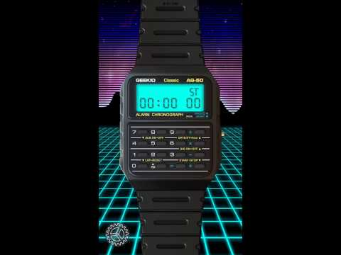 This App Turns Your $600 Apple Watch Into A $20 Casio Calculator Watch