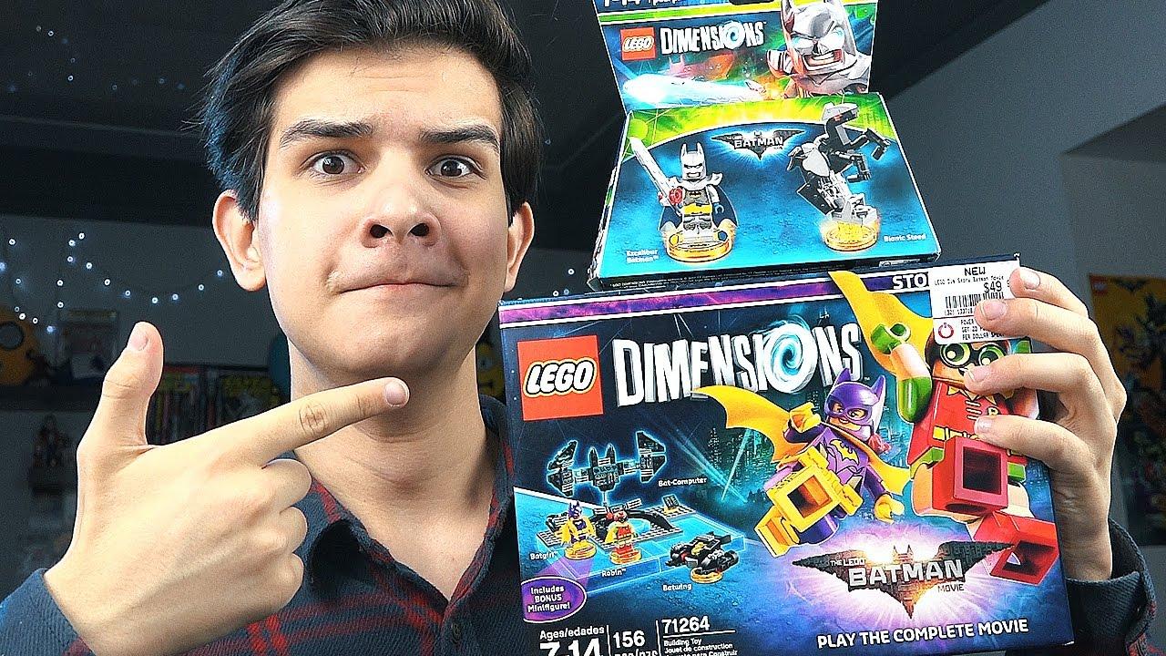 Распаковка LEGO Dimensions! - ЛЕГО БЭТМЕН