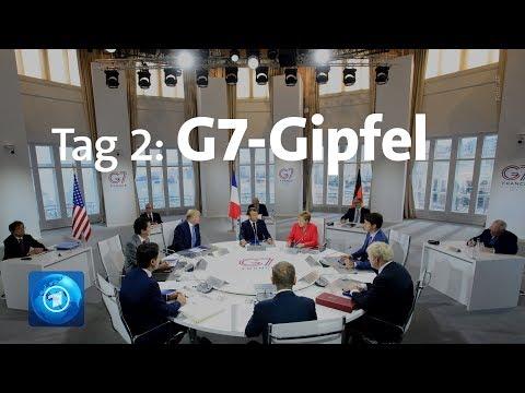 Tag 2 Des G7-Gipfels: Darüber Sprachen Die Regierenden