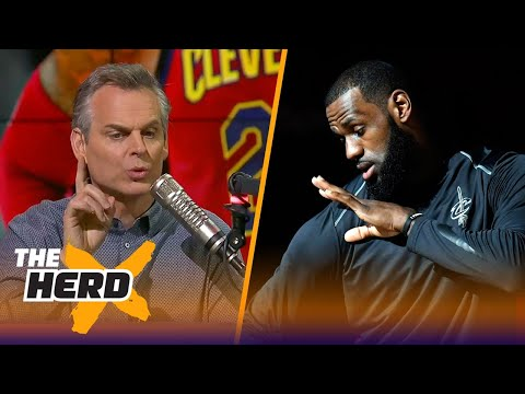 Colin Cowherd on what LeBron going to the Lakers would do for his brand  THE HERD